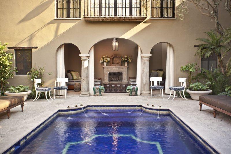 Pool next to Casita